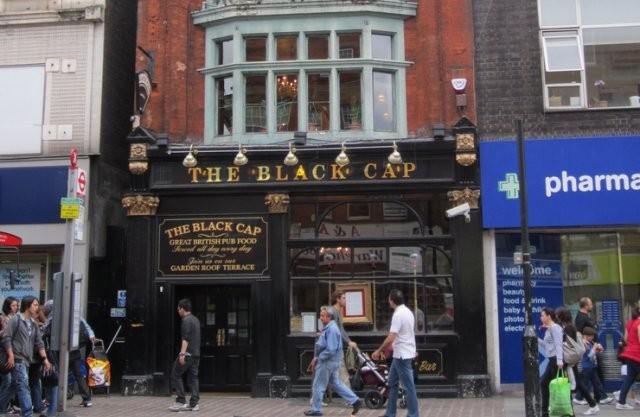 The black cap in London