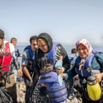 Refugees crysis in Greece