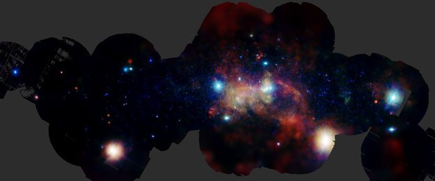 The Galactic Centre through the emission of heavy elements