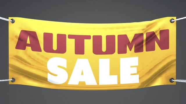 Banner for autumn sale