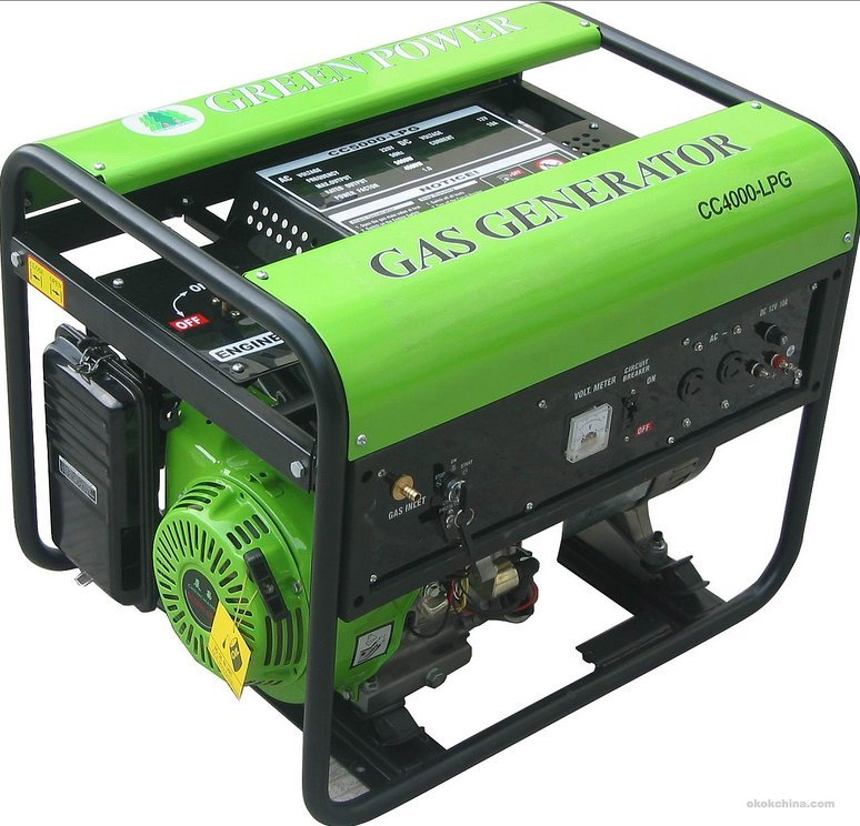 Natural Gas Powered Electric Generator Home