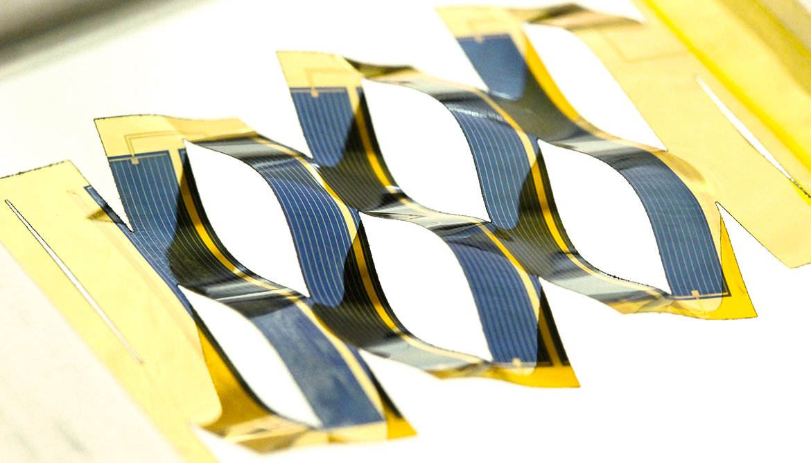 kirigami-inspired solar cell