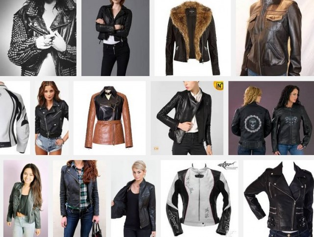 Ladies bike jackets