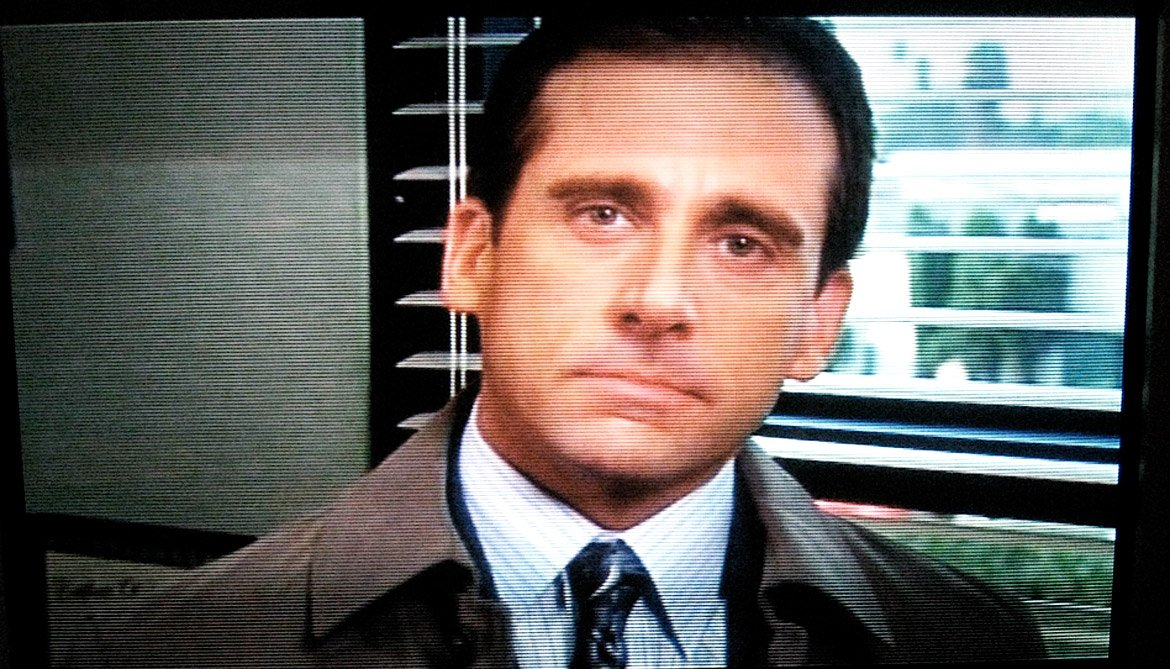 """Michael Scott"" from ""The Office"""