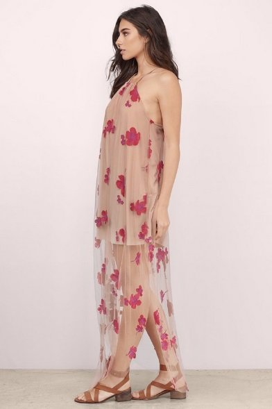 Emily Embroidered Maxi Dress