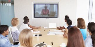 Video conference team