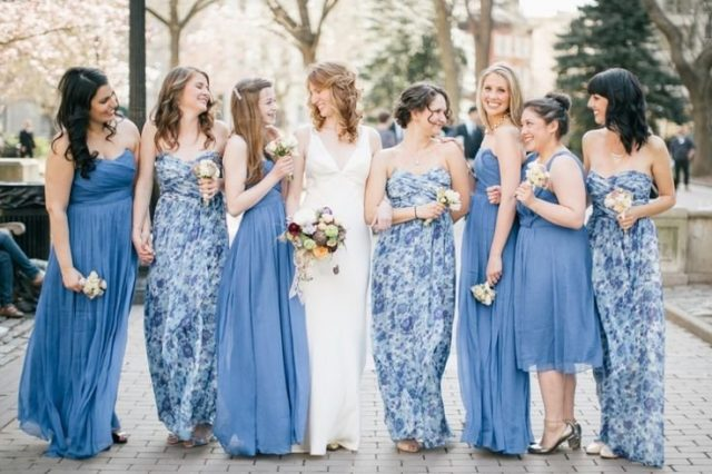 How to Make Shopping for a Bridesmaids Dresses Less Stressful | The ...