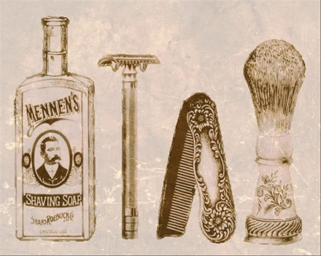 Old shaving tools