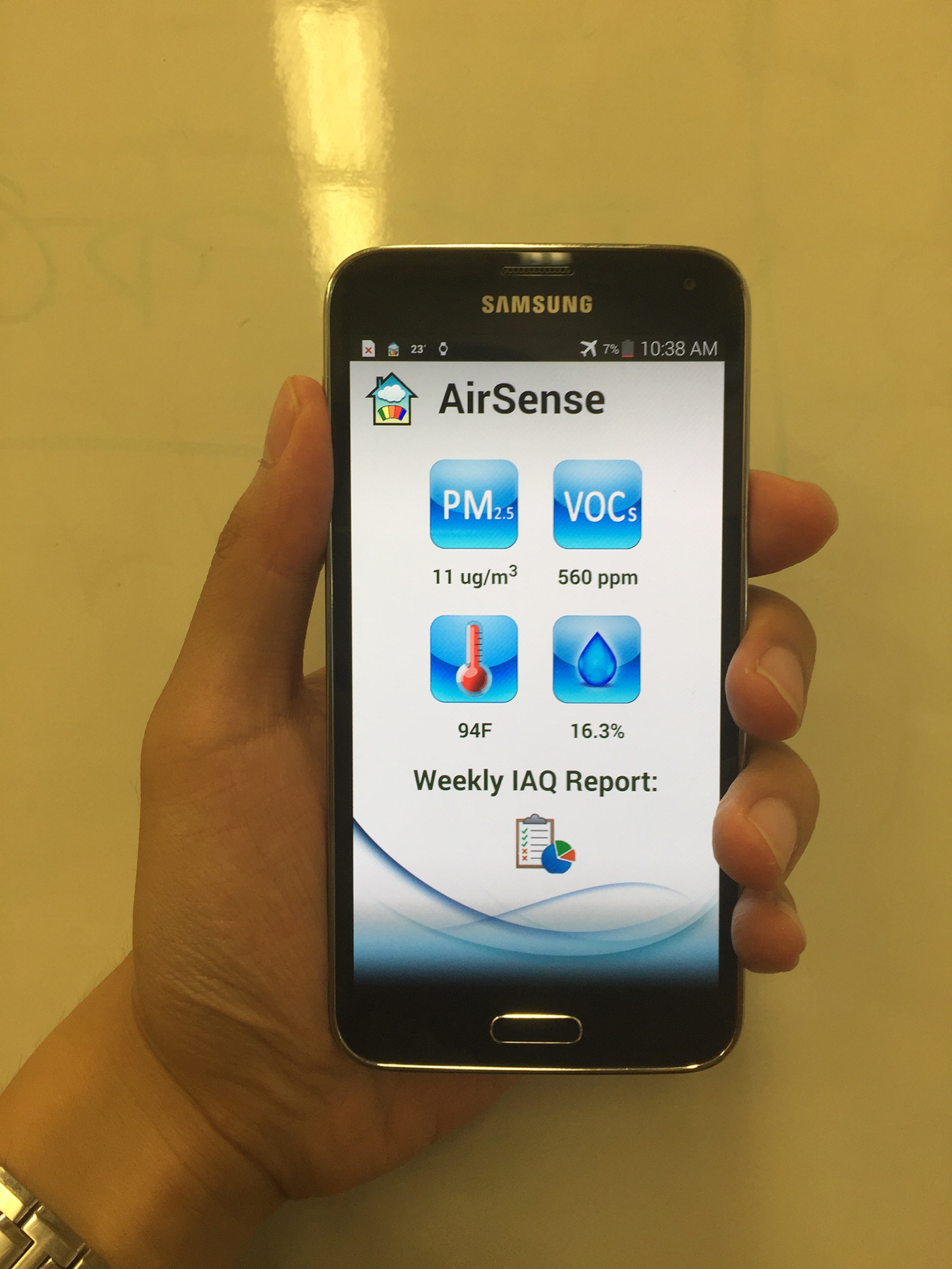 AirSense interface