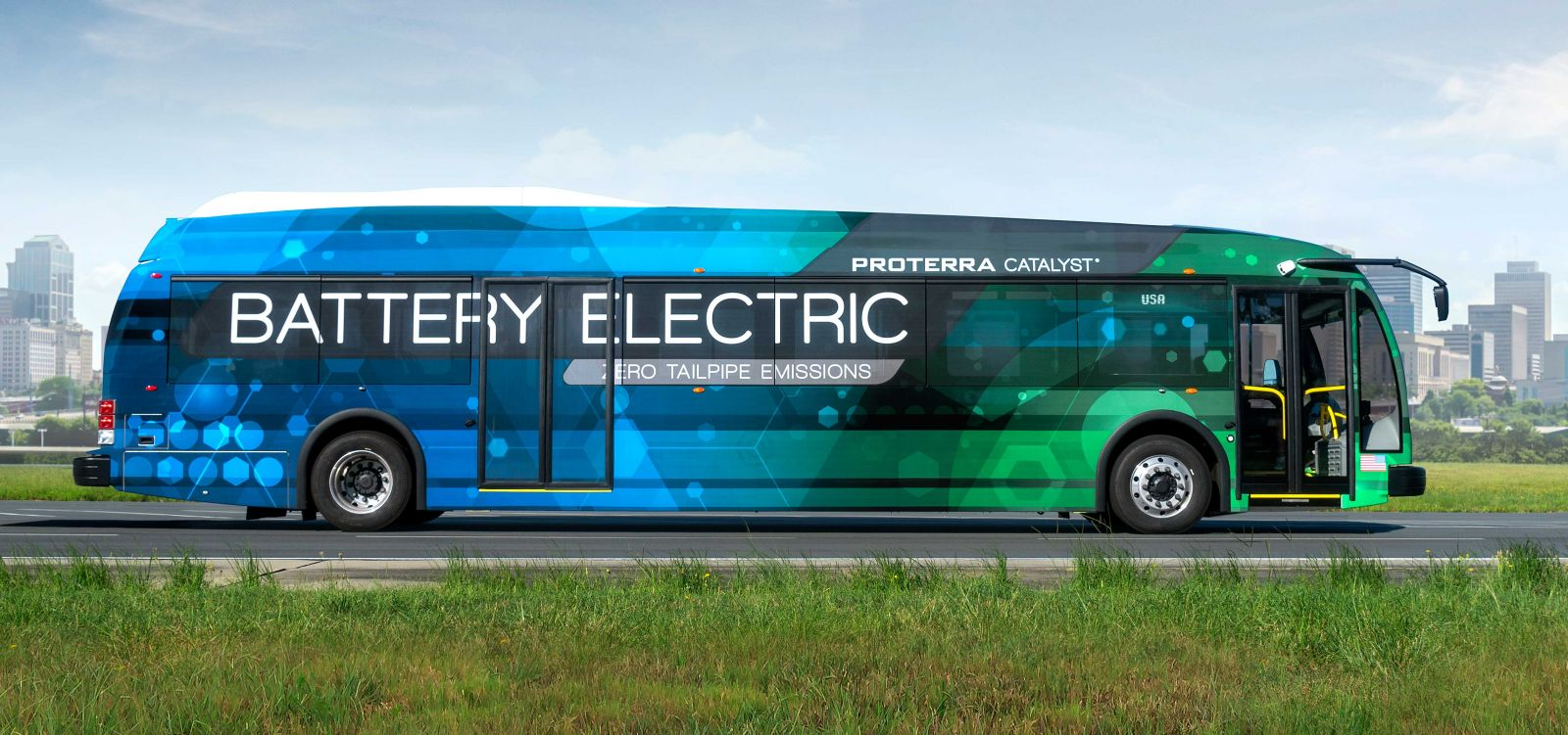 Proterra Electric Bus The All I Need
