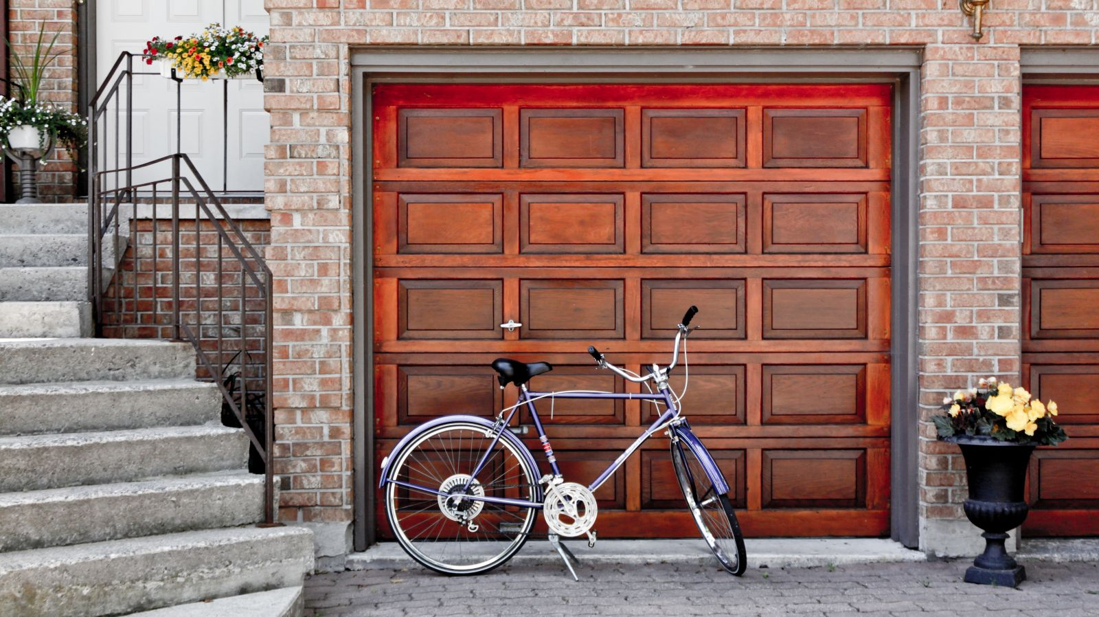 A look at your top options for garage door materials the for Garage materials