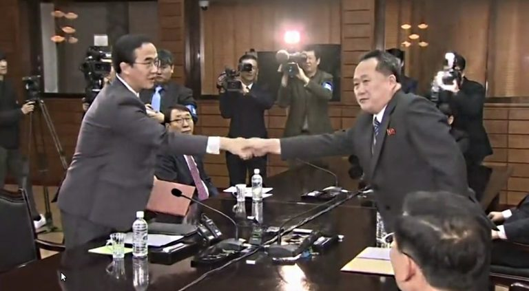 First summit in eleven years between the two Koreas
