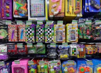 Chinese toys in store