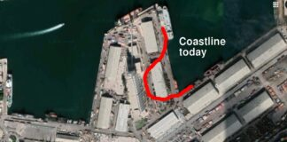 Beirut port before