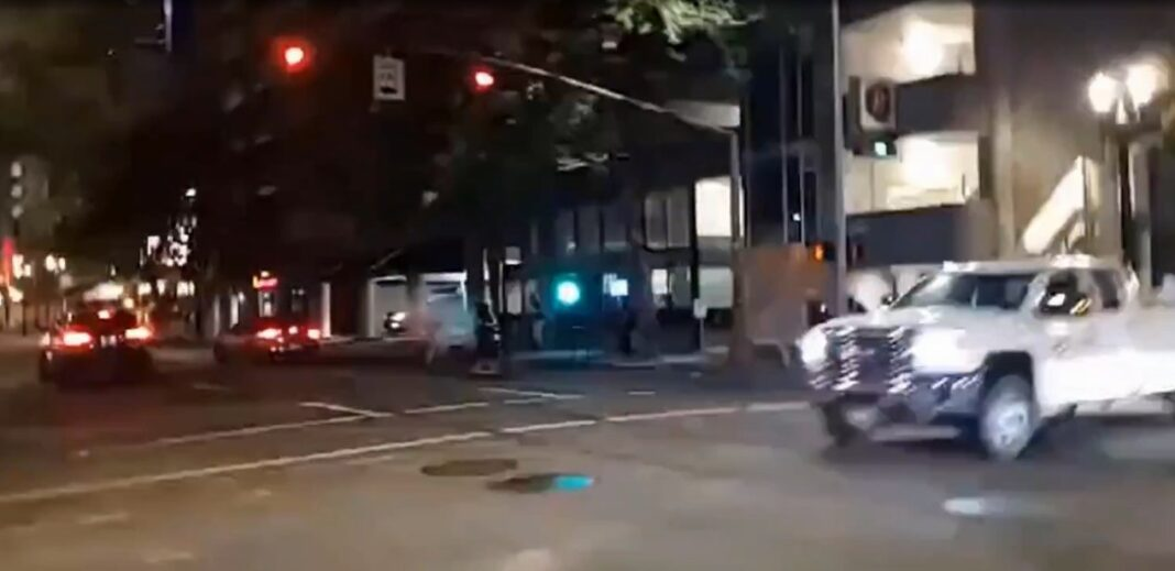 Black man kills protester in Portland