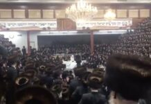 Jewish wedding 7000 attendees