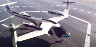 Uber Elevate aircraft