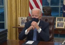 Joe Biden inauguration wristwatch