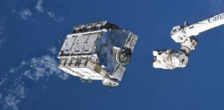ISS batteries disposal space