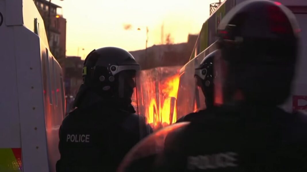 Londonderry riots 2021