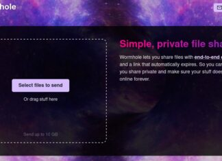 Wormhole app file transfer