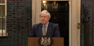 Boris Johnson 10 Downing Street