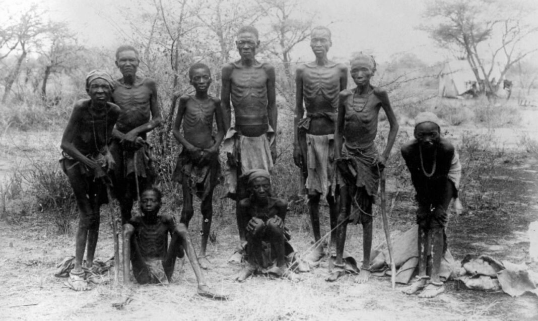 Germany Namibia genocide starvation