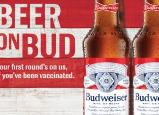 Free Budweiser for vaccinated