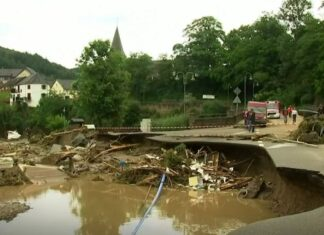 Floods in Germany