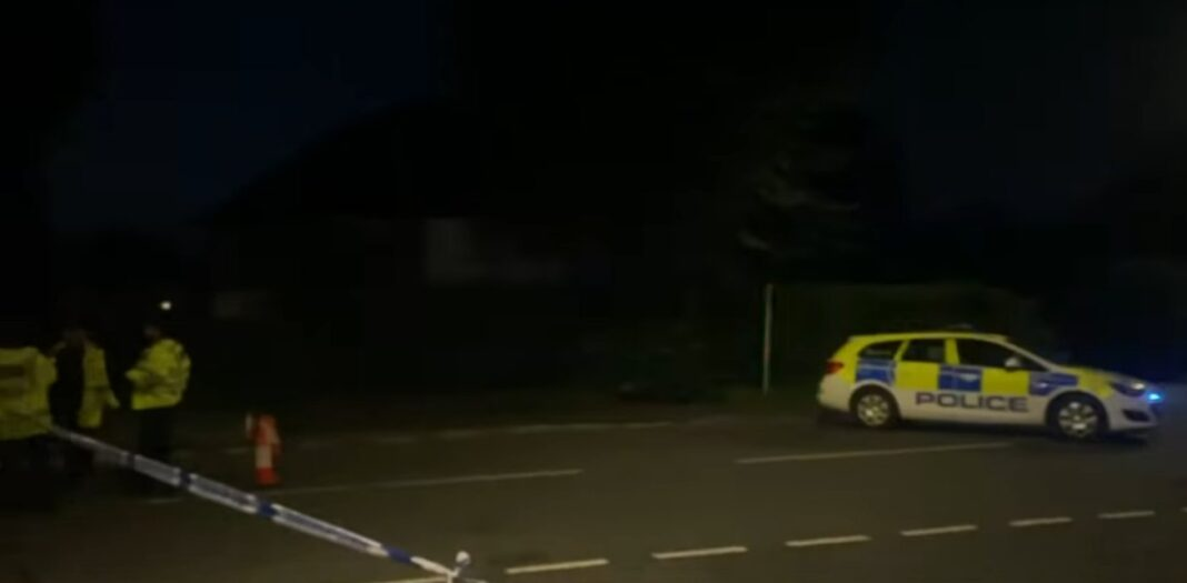 Police at Plymouth shooting